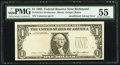Error Notes:Missing Third Printing, Missing Third Printing Error Fr. 1913-E $1 1985 Federal Reserve Note. PMG About Uncirculated 55.. ...