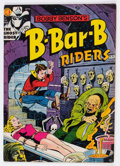 Golden Age (1938-1955):Horror, Bobby Benson's B-Bar-B Riders #14 (Magazine Enterprises, 1952)Condition: FN....