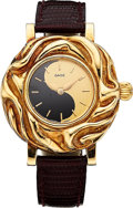 Estate Jewelry:Watches, Elizabeth Gage Lady's Gold Yin Yang Watch. ...