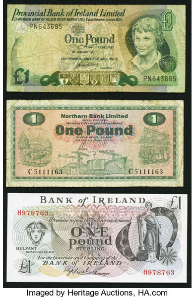 World Currency A Trio From Three Diffe Banks In Northern Ireland