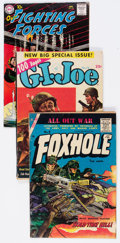 Golden Age (1938-1955):War, Golden to Silver Age War Related Group of 11 (Various Publishers,1951-67) Condition: Average VG+.... (Total: 11 Comic Books)