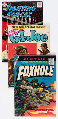 Golden to Silver Age War Related Group of 11 (Various Publishers, 1951-67) Condition: Average VG+.... (Total: 11 Comic B...