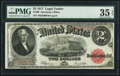 Large Size:Legal Tender Notes, Fr. 60 $2 1917 Legal Tender PMG Choice Very Fine 35 EPQ.. ...