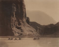 Photographs, Edward Sheriff Curtis (American, 1868-1952). Canon de Chelly, 1904. Orotone. 11 x 14 inches (27.9 x 35.6 cm). Signed in ...