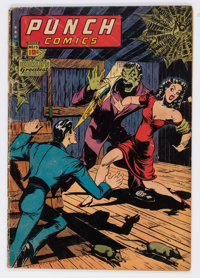 Punch Comics #15 (Chesler, 1945) Condition: GD/VG