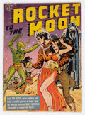 Golden Age (1938-1955):Science Fiction, Rocket to the Moon #nn (Avon, 1951) Condition: Apparent GD/VG....