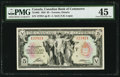 Canadian Currency: , Toronto, ON- Canadian Bank of Commerce $5 Jan. 2, ...
