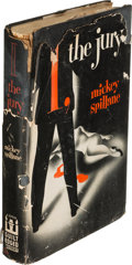 Books:Mystery & Detective Fiction, Mickey Spillane. I, the Jury. New York: E. P. Dutton &Company, 1947. First edition, inscrib...