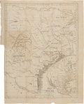Miscellaneous:Maps, [Society for the Protection of German Immigrants in Texas].Karte von Texas entworfen nach den Vermessungen welche inde...