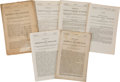 Political:Small Miscellaneous (pre-1896), Admission of Colorado into the Union, Six Printings:... (Total: 6 Items)