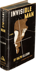 Books:Literature 1900-up, Ralph Ellison. Invisible Man. New York: Random House,[1952]. First edition, signed by the author on the front f...