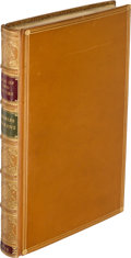 Books:Literature Pre-1900, Charles Dickens. A Tale of Two Cities. London: Chapman and Hall, 1859. First edition, first issue, with signatur...