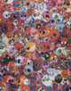 Takashi Murakami (b. 1962) MCRST 1962-2011, 2011 Offset in colors with glossy varnish 29 x 22-3/4 inches (73.7 x 57.8