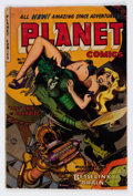 Golden Age (1938-1955):Science Fiction, Planet Comics #72 (Fiction House, 1953) Condition: VG-....