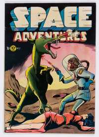 Space Adventures #2 (Charlton, 1952) Condition: FN+