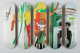After Jean-Michel Basquiat X The Skateroom Untitled, set of five skate decks (Open Edition), 2016 Screenprints in colo...