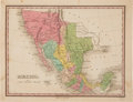 Books:Maps & Atlases, [Map]. Anthony Finley. Mexico....