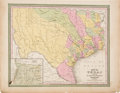 Books:Maps & Atlases, C. S. Williams. Map of Texas from the Most RecentAuthorities....
