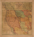 Books:Maps & Atlases, S[amuel] Augustus Mitchell. A New Map of Texas, Oregon and California, with the Regions Adjoining....