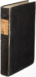 Books:Science & Technology, Charles Babbage. The Ninth Bridgewater Treatise. London: 1837. First edition, inscribed....