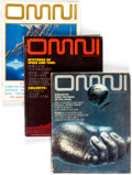 Magazines:Science-Fiction, Omni Magazine Short Box Group (Omni Publications, 1979-90)Condition: Average VG/FN....