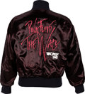 Music Memorabilia:Costumes, Pink Floyd The Wall WCMF '96 Tour-Crew Jacket (1996)....