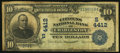 National Bank Notes:West Virginia, Charleston, WV - $10 1902 Date Back Fr. 619 The Citizens NB Ch. #(S)4412. ...