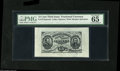 Fractional Currency:Third Issue, Fr. 1272SP 15¢ Third Issue Wide Margin Pair PMG Gem Uncirculated 65. Both the face and back are graded 65. Both have extreme... (2 items)