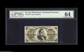 Fractional Currency:Third Issue, Fr. 1294 25¢ Third Issue PMG Choice Uncirculated 64. There is a minor Green Offset at the bottom on this obviously strictly ...