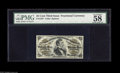 Fractional Currency:Third Issue, Fr. 1297 25¢ Third Issue PMG Choice About Uncirculated 58. A light center fold is barely visible on this otherwise Gem Fiber...