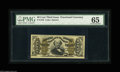 Fractional Currency:Third Issue, Fr. 1328 50¢ Third Issue Spinner PMG Gem Uncirculated 65. Other than some light paper toning, the note seems to have earned ...