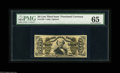 Fractional Currency:Third Issue, Fr. 1328 50¢ Third Issue Spinner PMG Gem Uncirculated 65. A beautifully bright example with nice hand signatures....