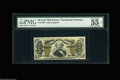 """Fractional Currency:Third Issue, Fr. 1332 50c Third Issue Spinner PMG About Uncirculated 55. PMG has two comments on this scarce """"1"""" and """"a"""" Spinner. """"Vivid ..."""