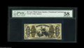 Fractional Currency:Third Issue, Fr. 1343 50¢ Third Issue Justice PMG Choice About Uncirculated 58. Beautifully margined for a Justice, but with lightly aged...