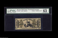 Fractional Currency:Third Issue, Fr. 1351 50¢ Third Issue Justice PMG Choice Uncirculated 63. Thefinest note in this collection and one of the nicest 1351s ...