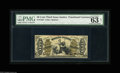 """Fractional Currency:Third Issue, Fr. 1355 50¢ Third Issue Justice PMG Net Choice Uncirculated 63. PMG has made two comments: the positive, """"Great embossing,""""..."""