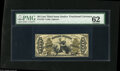 Fractional Currency:Third Issue, Fr. 1355 50¢ Third Issue Justice PMG Uncirculated 62. The original embossing is plainly evident on this boldly signed Justic...