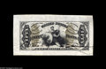Fractional Currency:Third Issue, Fr. 1355SP 50¢ Third Issue Justice Wide Margin Face Gem New. A gorgeous Colby-Spinner hand autographed Wide Margin Justice f...