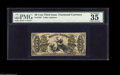 """Fractional Currency:Third Issue, Fr. 1357 50¢ Third Issue Justice PMG Choice Very Fine 35. A very nice example of this one number type. PMG has noted """"repair..."""
