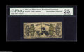 Fractional Currency:Third Issue, Fr. 1357 50¢ Third Issue Justice Inverted Back Engraving PMG Choice Very Fine 35. A third example, which although apparently...