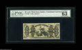 Fractional Currency:Third Issue, Fr. 1362 50¢ Third Issue Justice PMG Choice Uncirculated 63. Very nicely margined for a Choice Justice, and it would be a pr...
