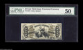 Fractional Currency:Third Issue, Fr. 1363 50c Third Issue Justice PMG About Uncirculated 50. Quite a nice example with three broad margins, but very tight ac...