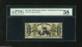 Fractional Currency:Third Issue, Fr. 1372 50¢ Third Issue Justice PMG Choice About Uncirculated 58. A really scarce fiber-paper Justice number. Two of the ma...
