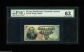 Fr. 1376 50¢ Fourth Issue Stanton PMG Choice Uncirculated 63. A decently centered example that certainly appears to...