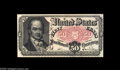 Fractional Currency:Fifth Issue, Fr. 1381 50¢ Fifth Issue Courtesy Autograph Choice New. John New's hand signature appears vertically to the right of Crawfor...