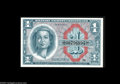 Military Payment Certificates:Series 611, Series 611 $1 Superb Gem New. A gorgeous note with ideal centering, fully bright color and perfect paper originality....