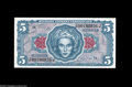 Military Payment Certificates:Series 641, Series 641 $5 Superb Gem New. A beautiful and technically perfectexample with ideal color and pronounced original embossing...