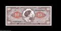 Military Payment Certificates:Series 641, Series 641 $10 Superb Gem New. The original embossing is deepenough to trip over on this splendid orange, blue and brown no...