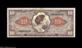 Military Payment Certificates:Series 641, Series 641 $10 Replacement Extremely Fine. The two foremost meritsof this great Replacement from the first printing are its...