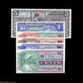 Military Payment Certificates:Series 661, Series 661 5¢, 10¢, 25¢, 50¢, $1 and $5 Superb Gem New. A very nicematching set that includes the Five Dollar denomination,... (6notes)